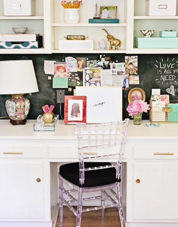 Chalkboard Backsplash with Kitchen Desk.jpg