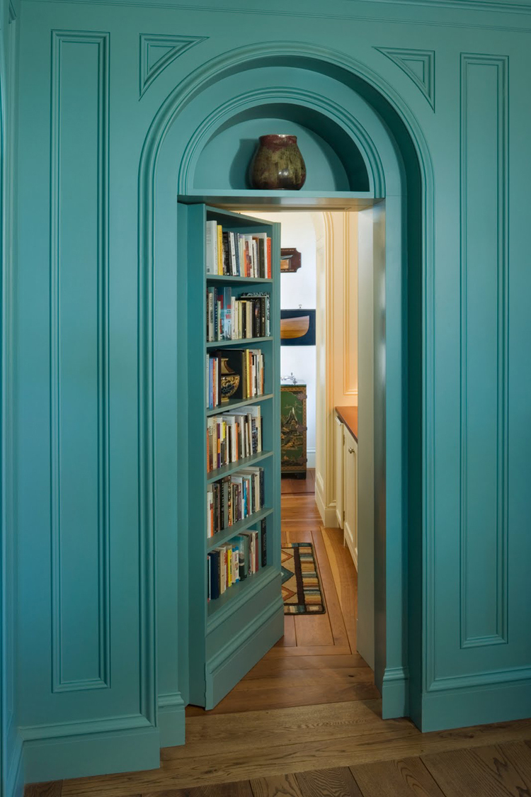 SECRET BOOKCASE DOORS REVEALED!