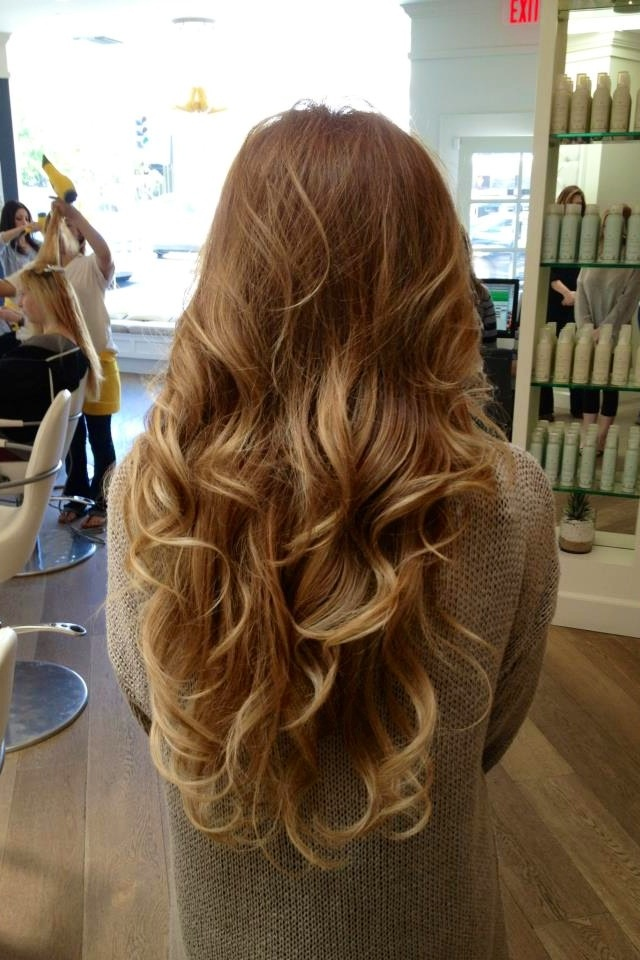 long hair blow dry styles drybar keeley kraft 3166 | Drybar Blowout Hair Curls
