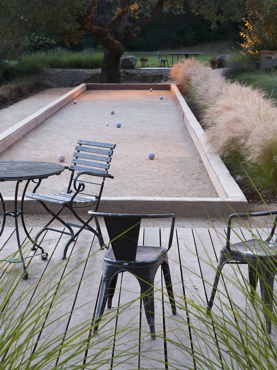 backyard bocce ball