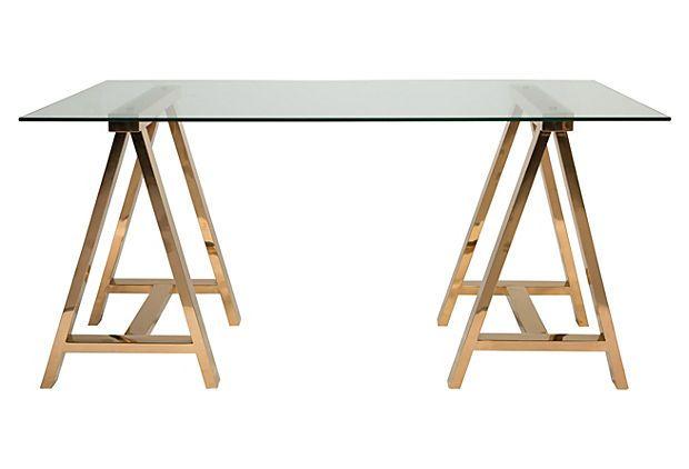 Safavieh Bronze Sawhorse Desk.jpg