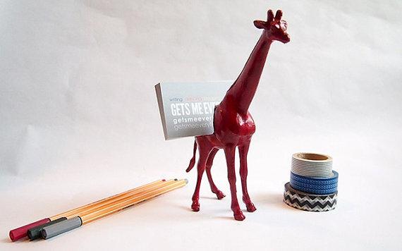 Giraffe Business Card Holder.jpg