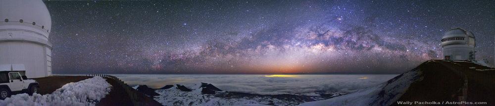 Courtesy: NASA, summit of Mauna Kea, Hawaii