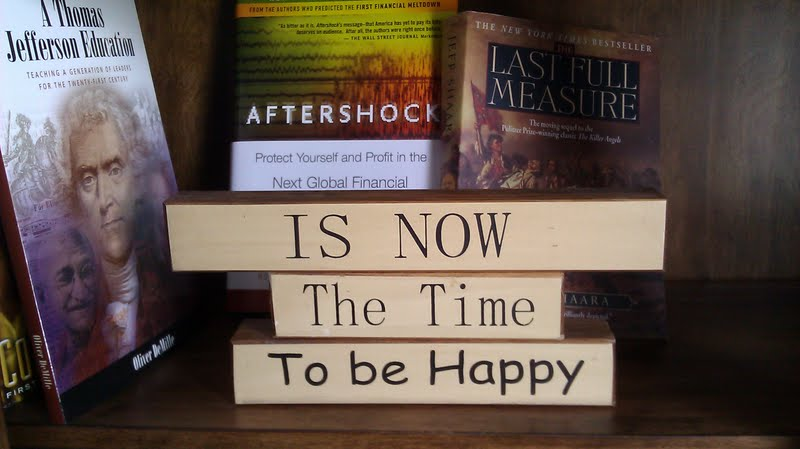 Is now the time to be happy hugh vail