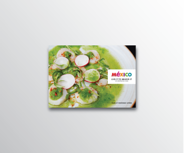 Taste of Mexico Menu Design