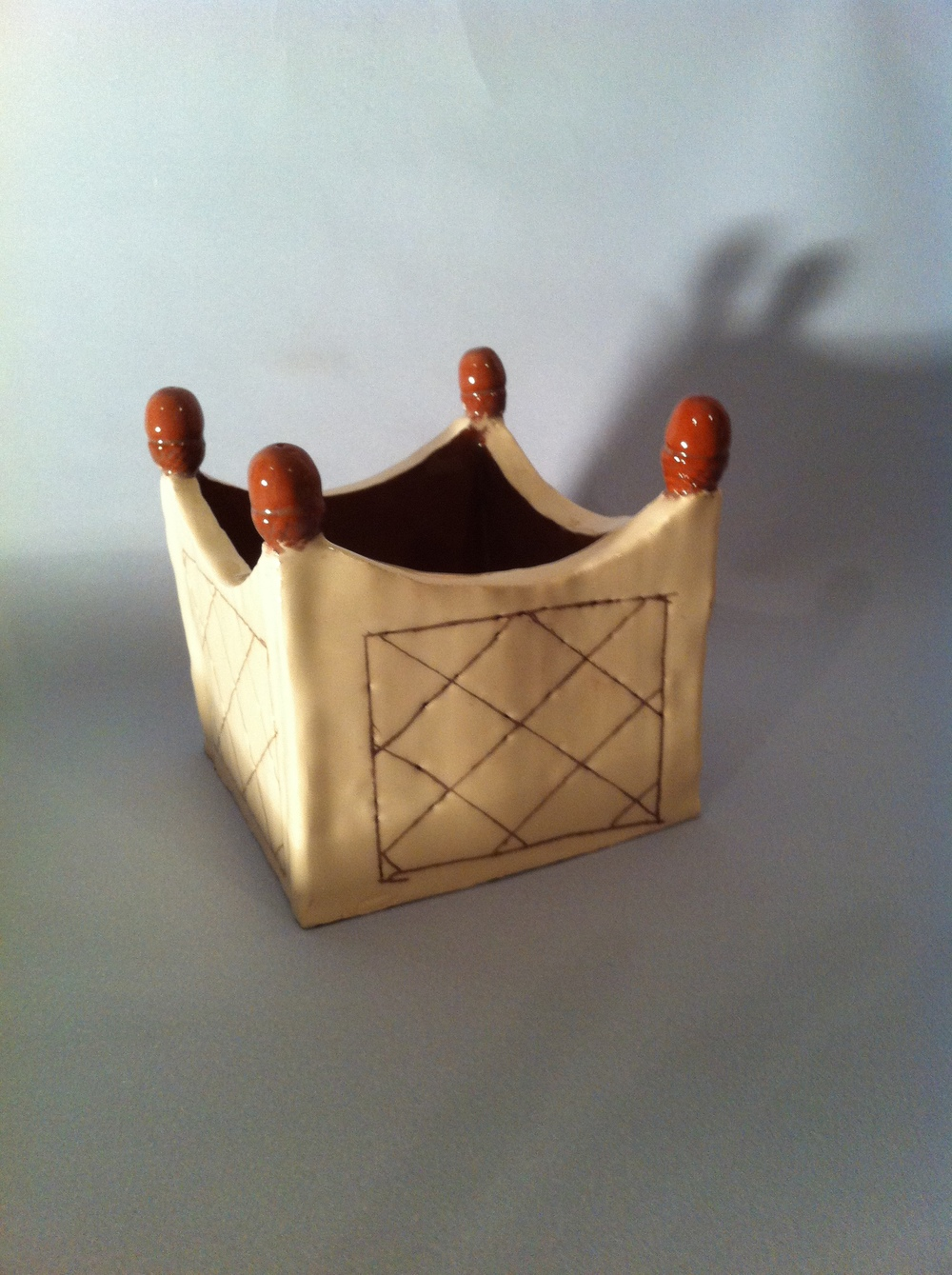 Square planter - Chris Thorley
