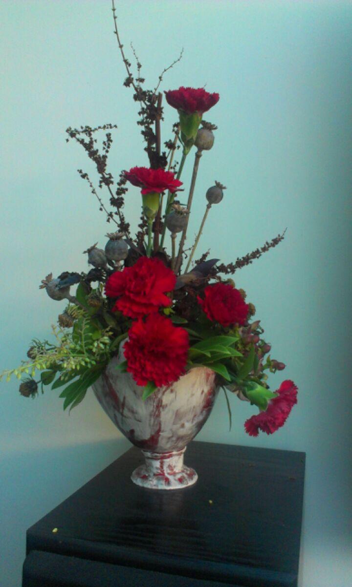 Ikebana vase - Janice Kimpton
