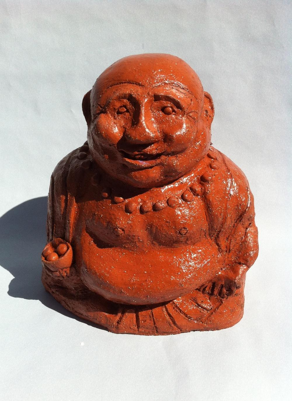Garden Buddha - Christine Thorley