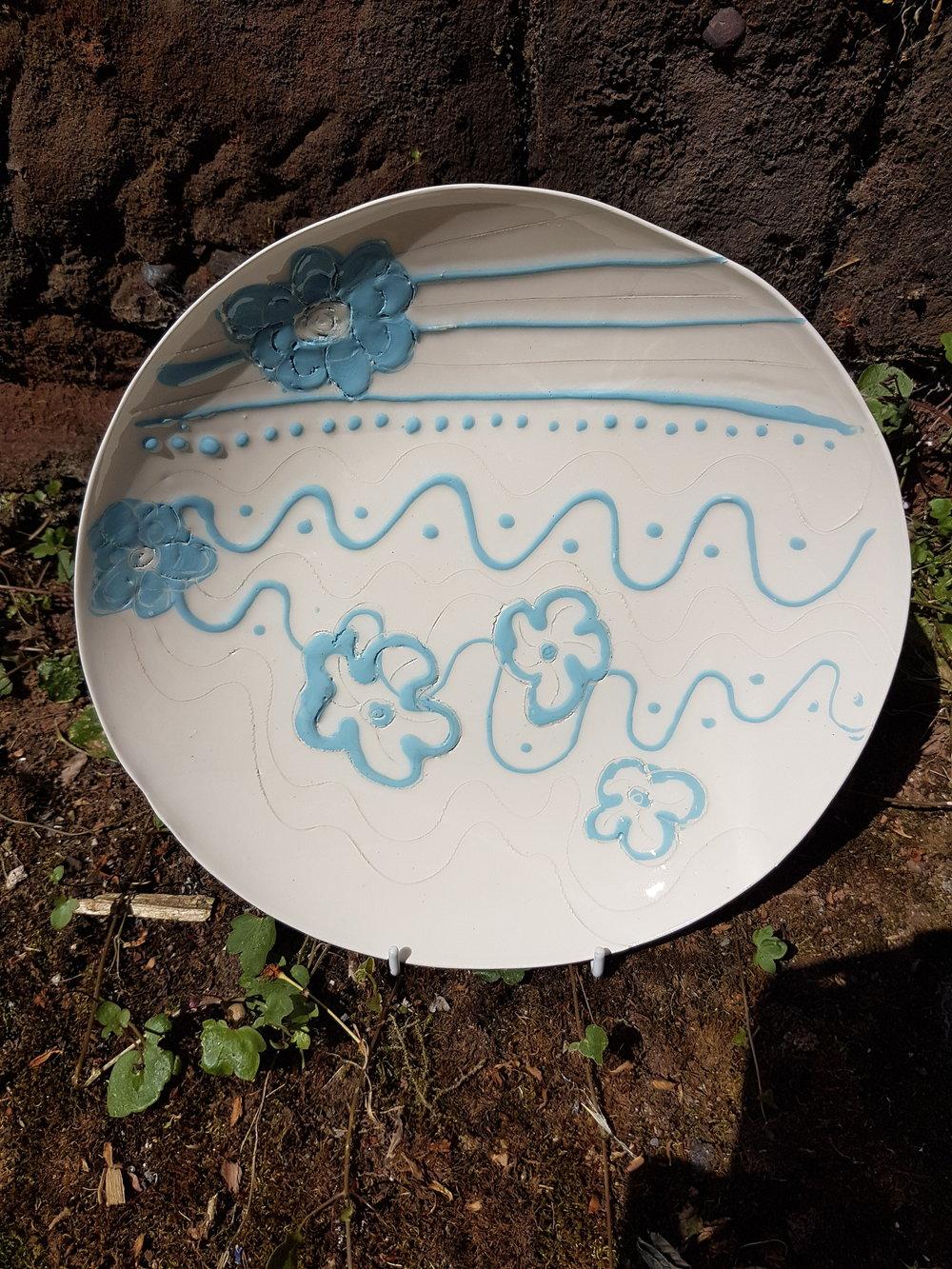 Plate - Caroline Roberts