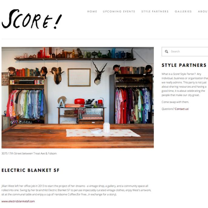 Score! Style Partner 2014