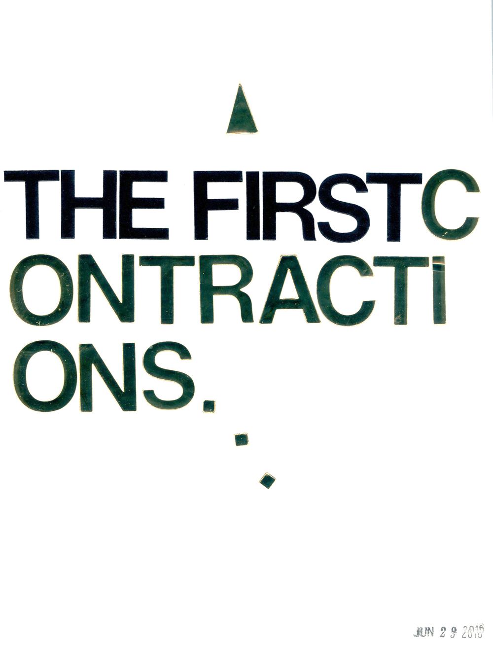 The First Contractions (270)