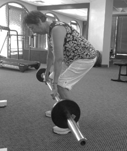Janice Hill deadlifting more than her age of 74!
