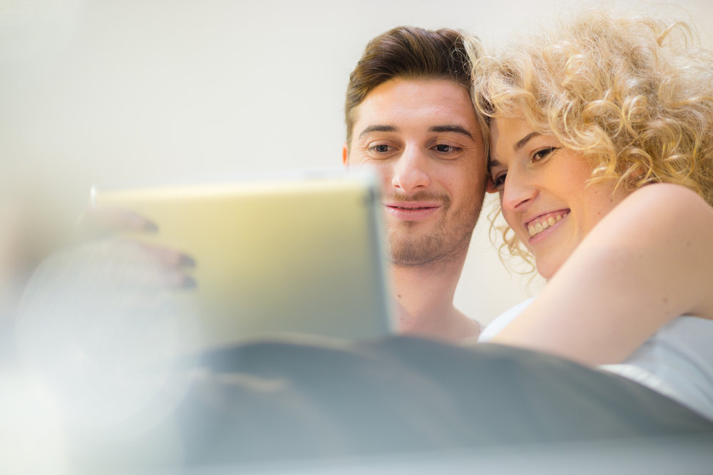 Get connected... - Reading together as a couple can facilitate better communication, emotional bonding and build intimacy.