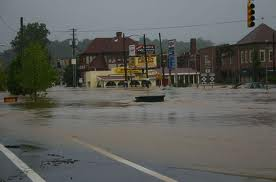 Flooding in Biltmore Village - 2004