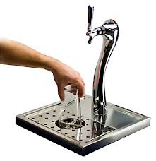 """star washer"" beer glass rinser"