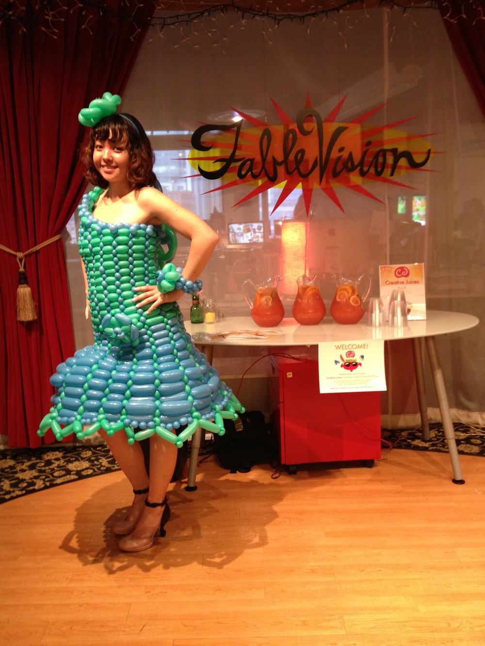 Tami Balloon Dress