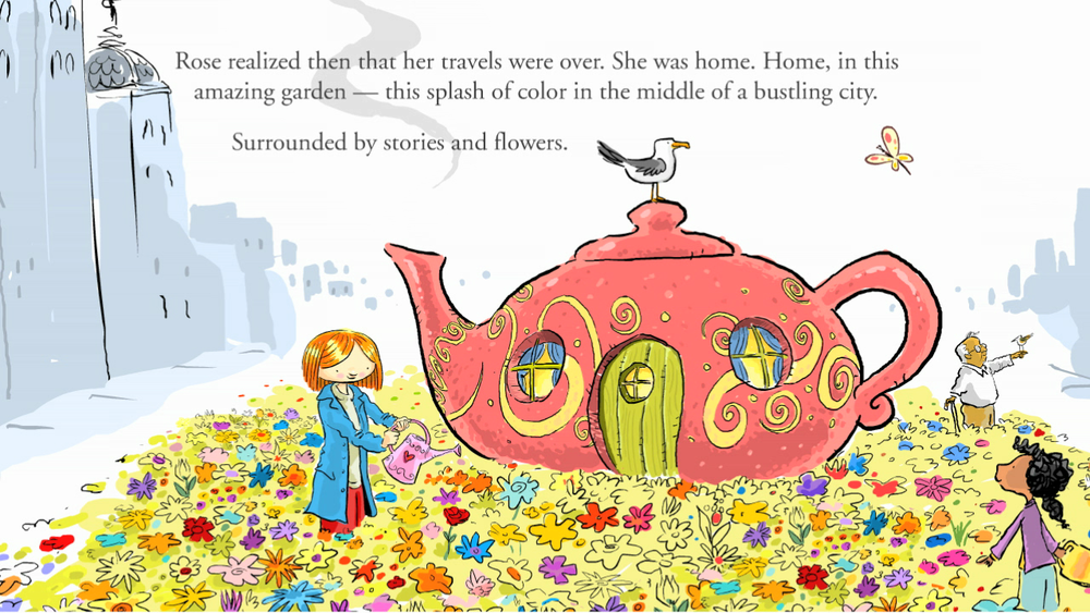Rose's Garden TeleFable