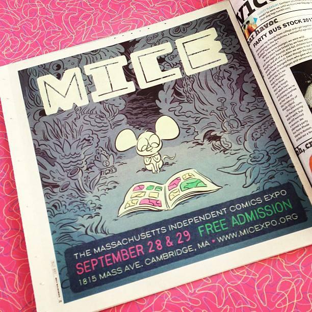 Bob's 2013 MICE poster art.