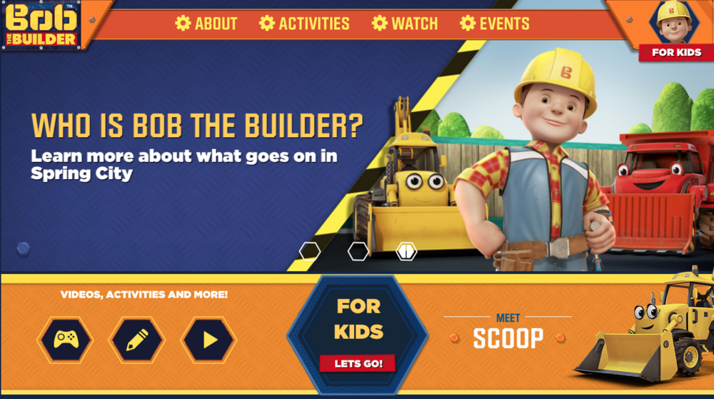 Adult bob the builder