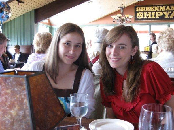 Christina and her sister