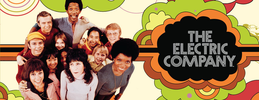 The original cast of The Electric Company