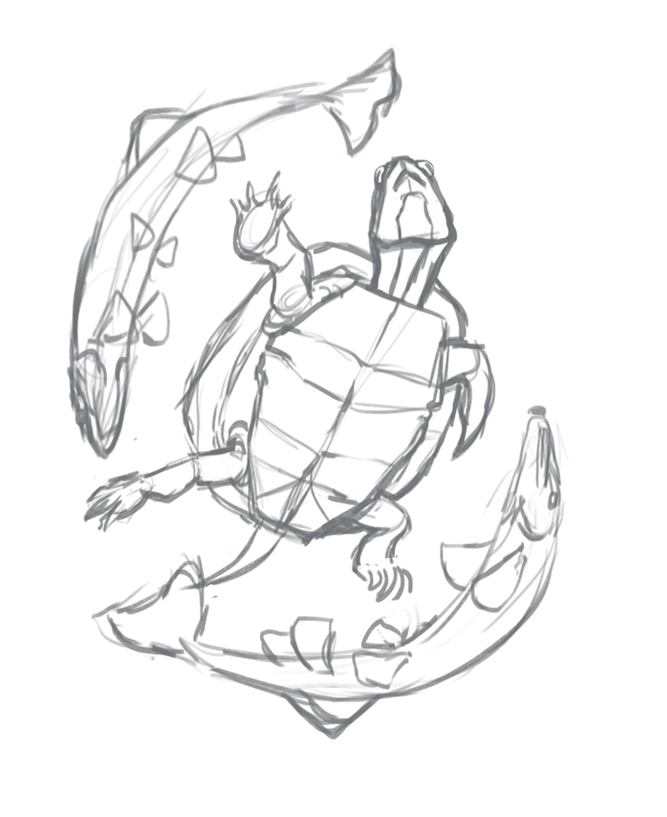 eastern painted turtle pop up sketch.jpg