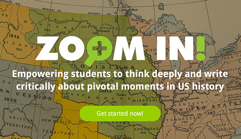 Zoom In!  is a free educator resource provided by EDC