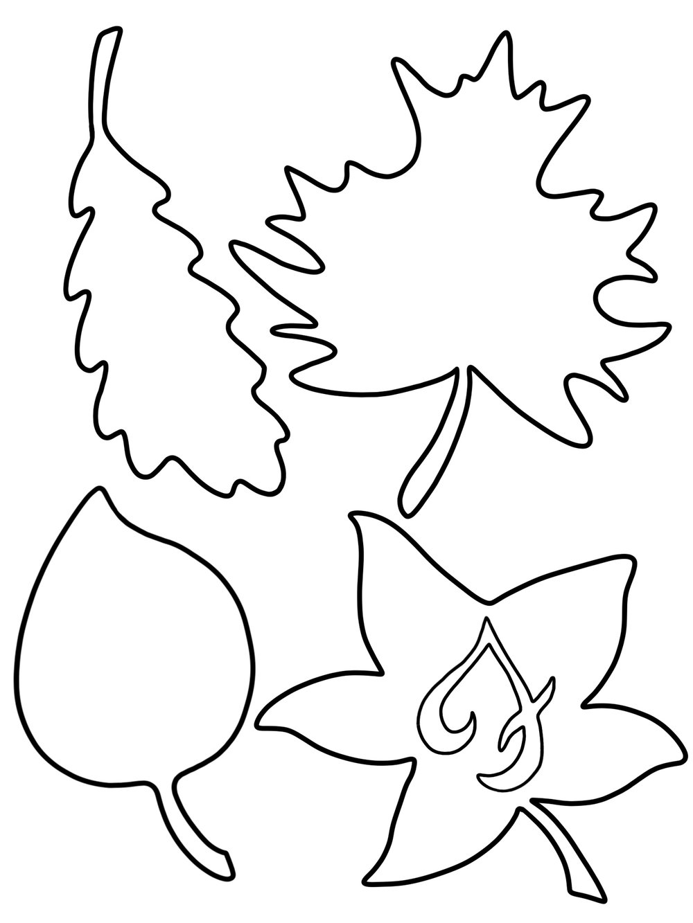 Right click to download and save FableVision's leaf cutout template!