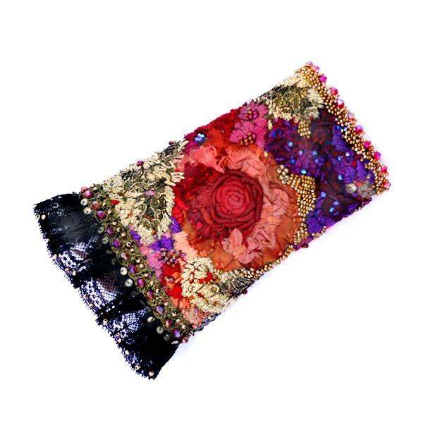 Krista R Blossom Embroidered Cuff