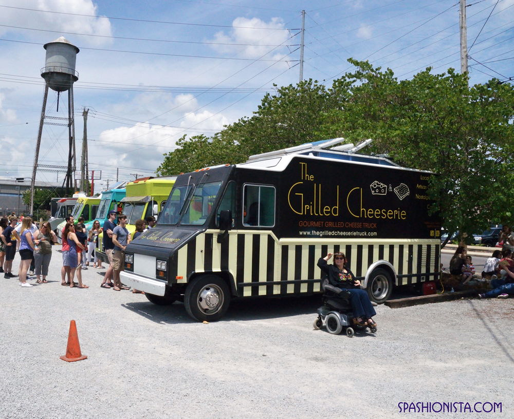 The Grilled Cheeserie  and other food trucks