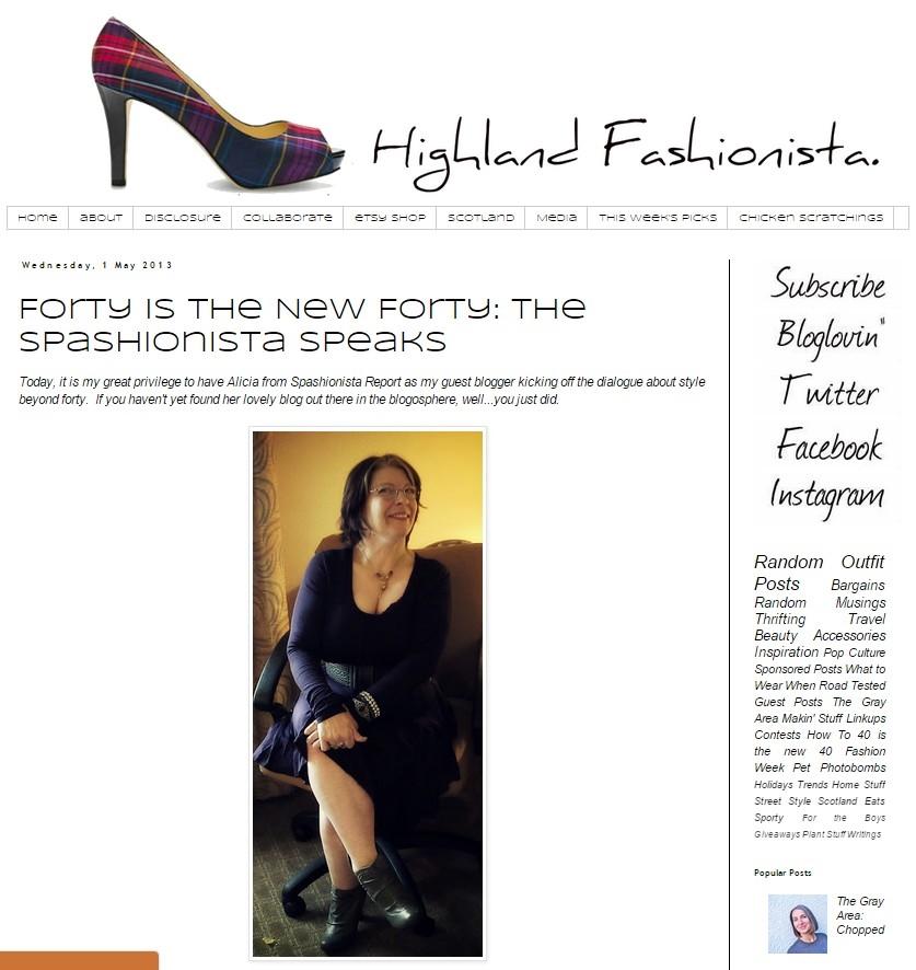 Highland Fashionista