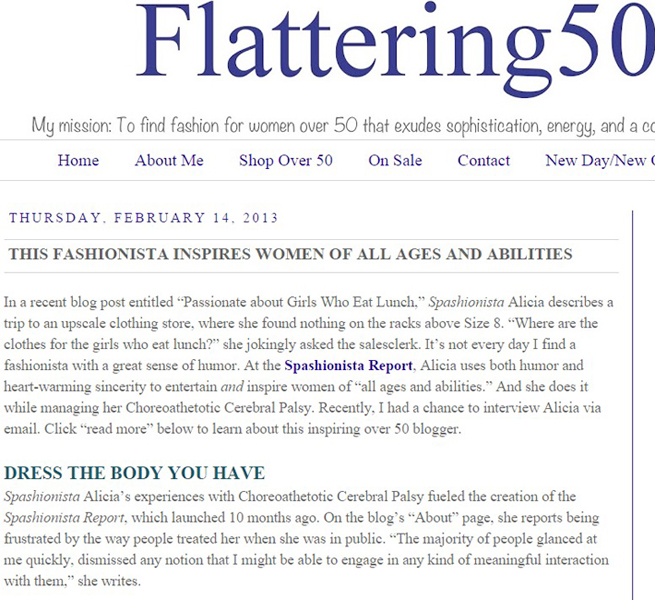 Flattering 50
