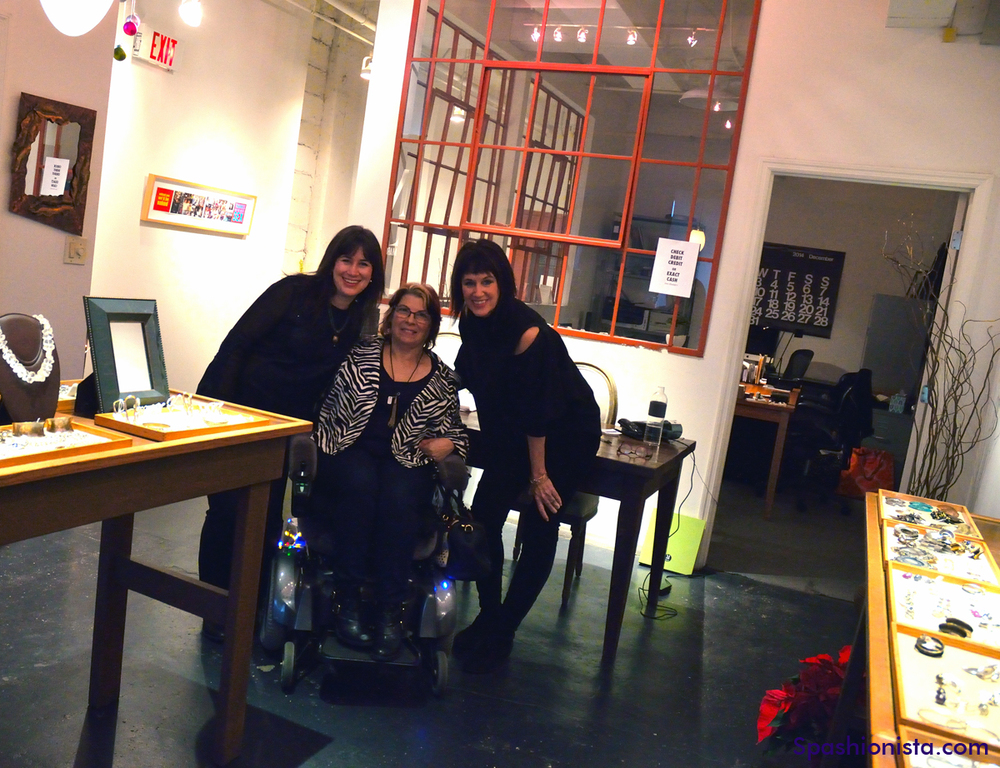 McLaine Richardson of Margaret Ellis Jewelry, Me, and Connie Richardson