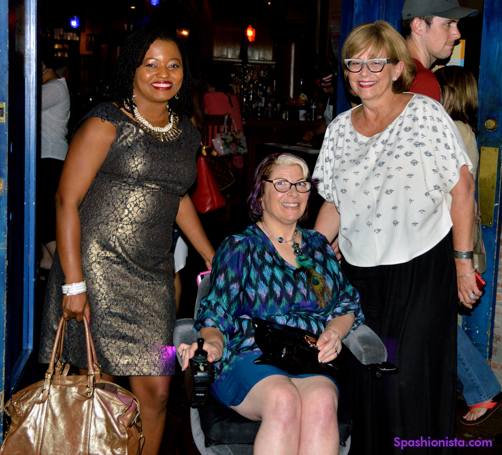 Chanda Plair, Me and Van Tucker of  Nashville Fashion Alliance