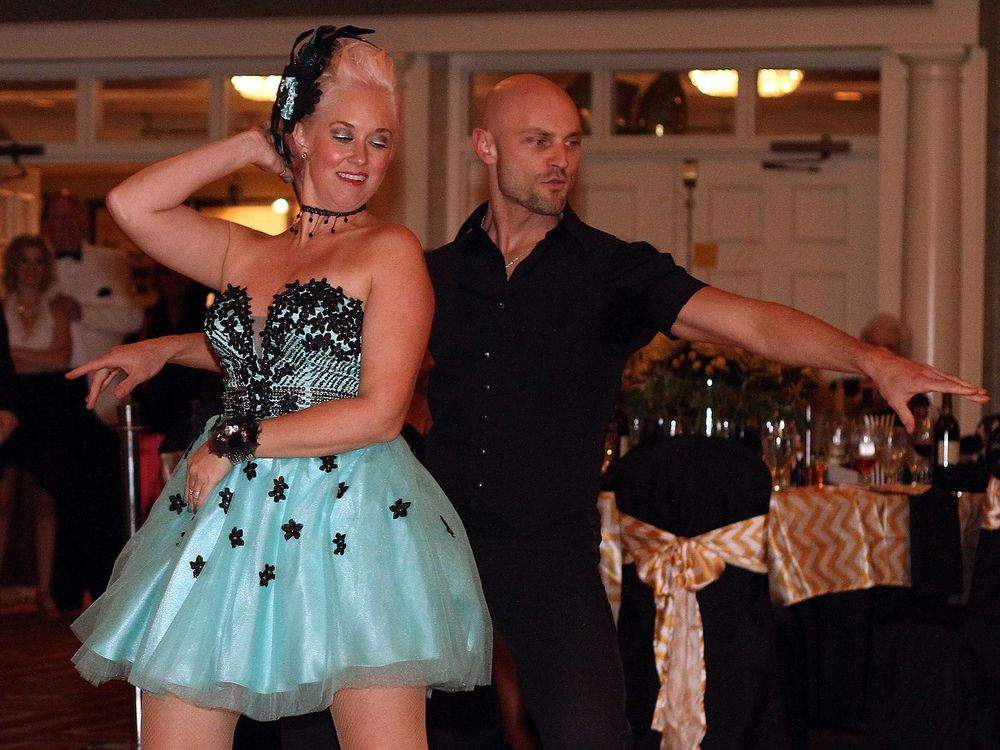 Sunny Fitz and John Honeycutt, winners of Dancing with the Stars Sumner County, benefitting Sumner Teen Center