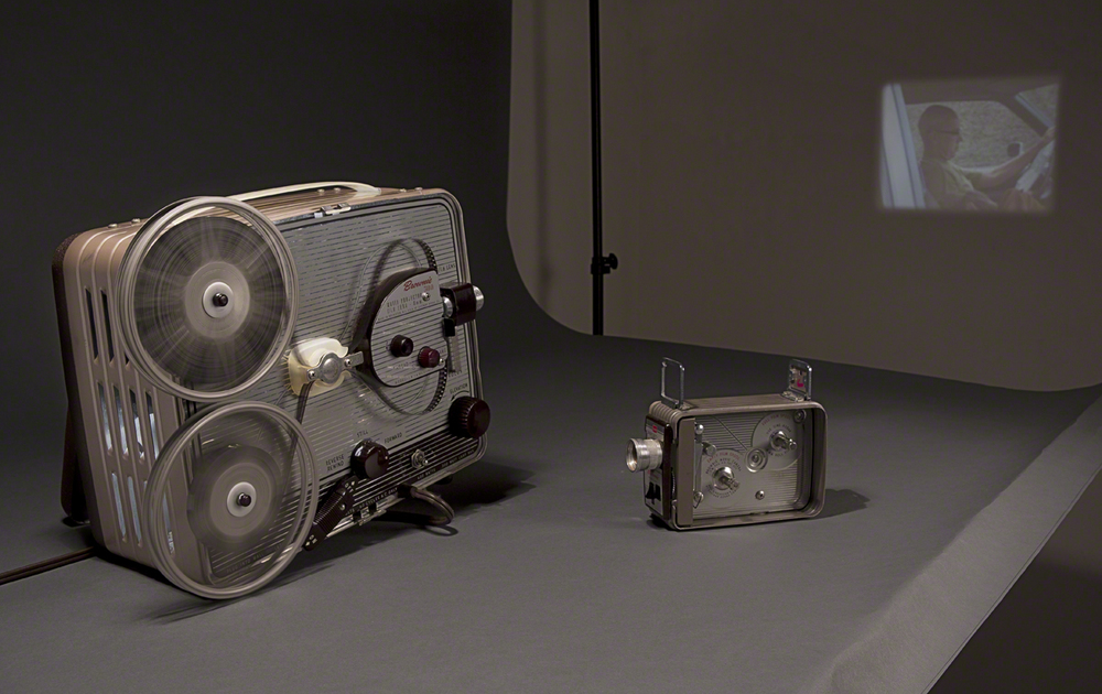 kodak brownie 300 projector and video camera