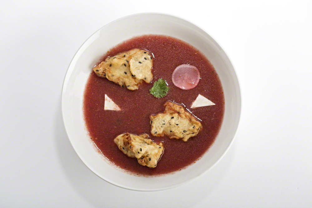 chicken watermelon gazpacho