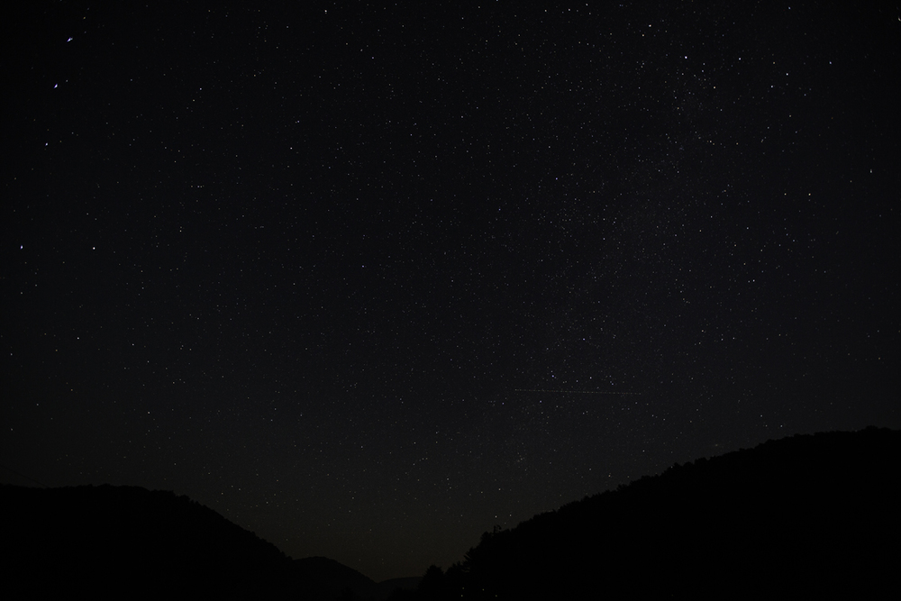 so many stars up there