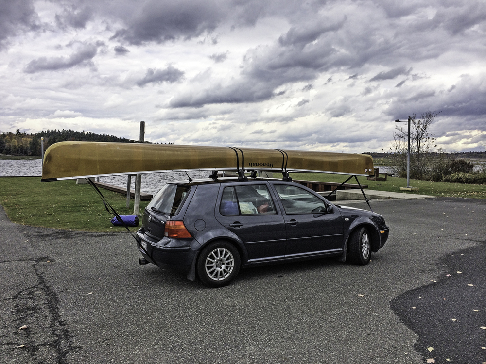 their 18' boat was enormous, especially on the vdub