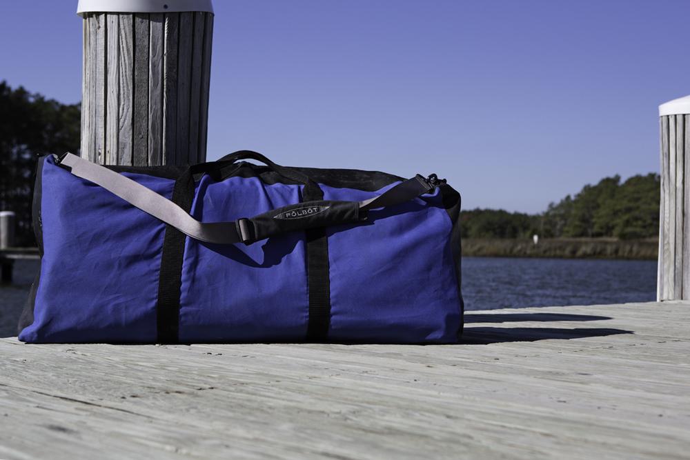 A boat in a bag.