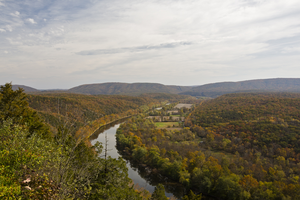 Overlooking the potomac river, this is part of the Paw Paw Bends area.