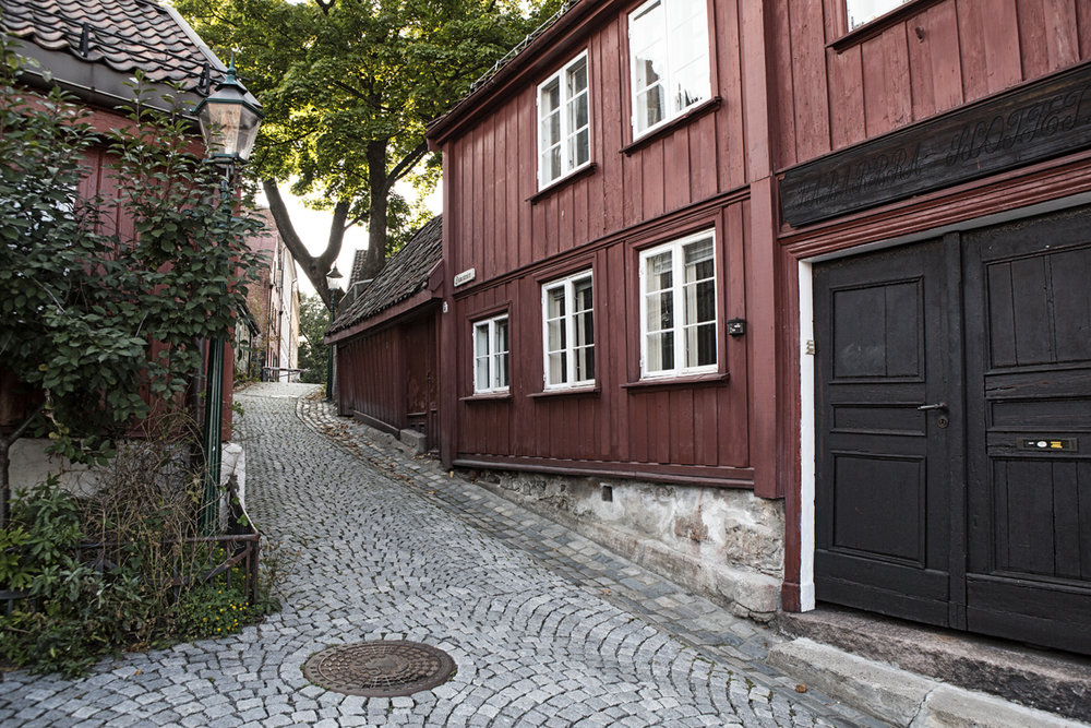 An old section of Oslo.