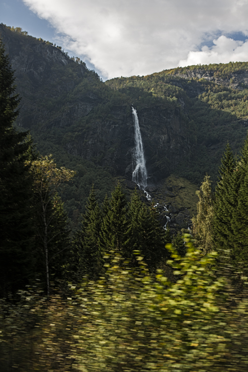 Another giant waterfall along the Flam railway.