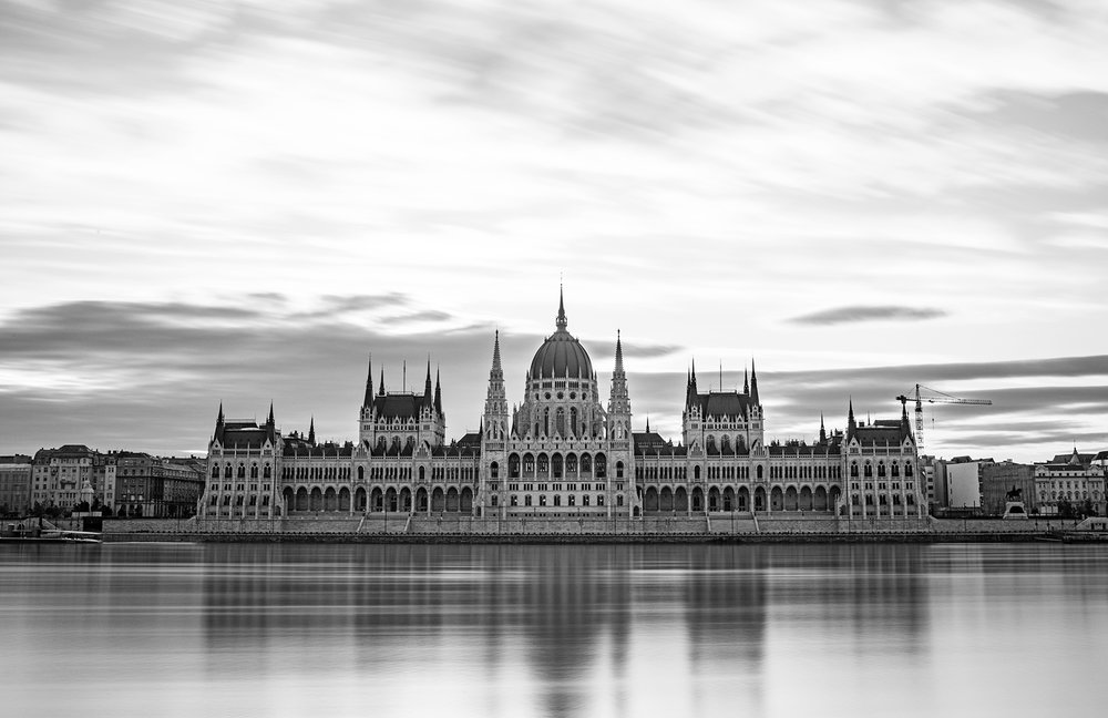 Hungarian Parliament from across the Danube.