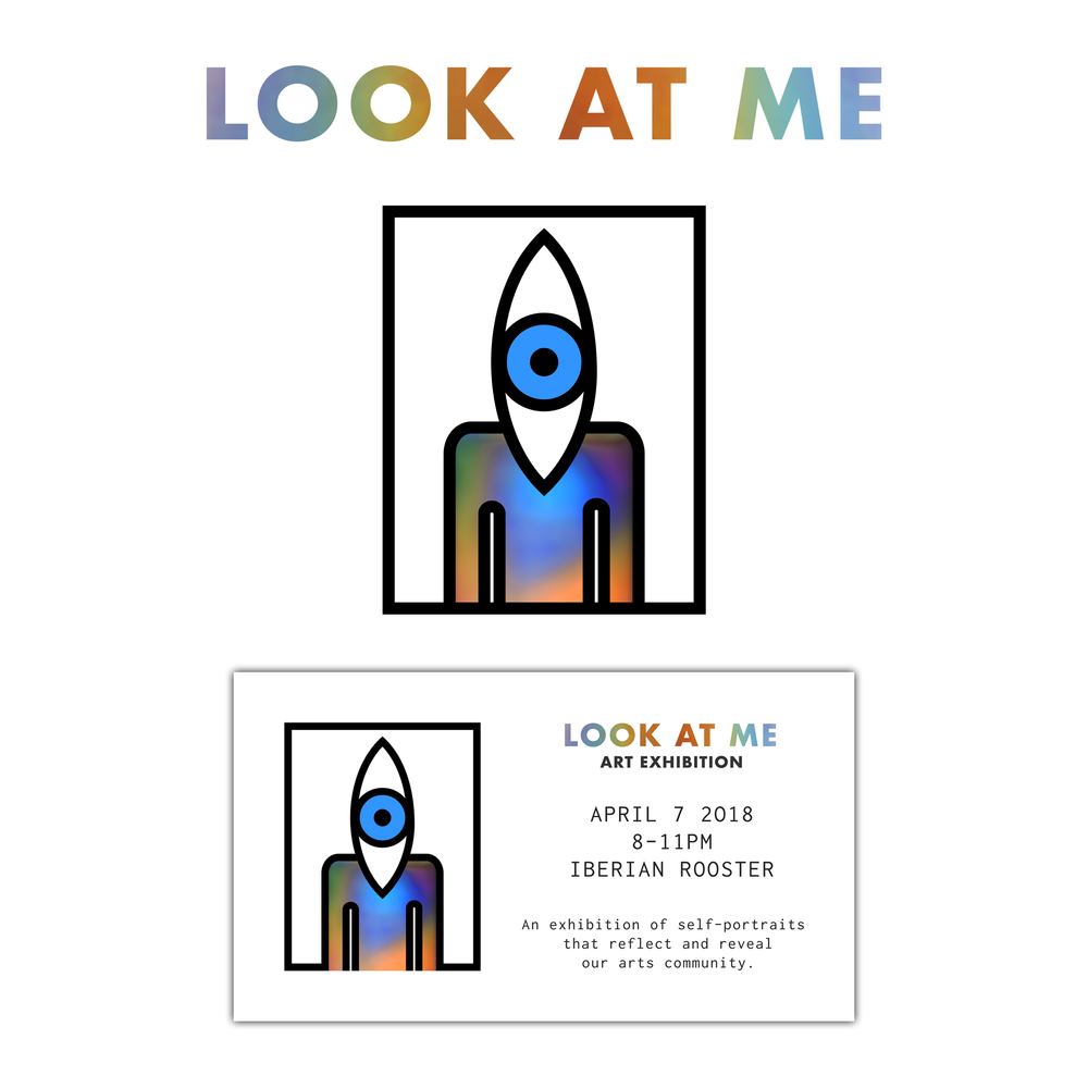 Look At Me Art Exhibit