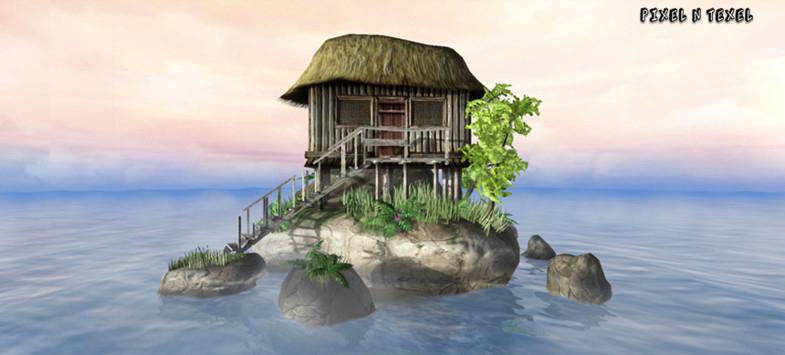 Island Hut Pack - Unity Asset Store