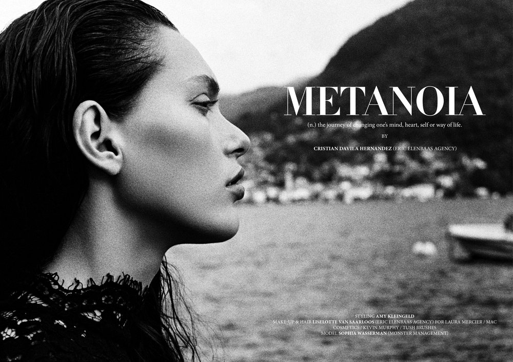 METANOIA EXCLUSIVE FOR NASTY MAGAZINE