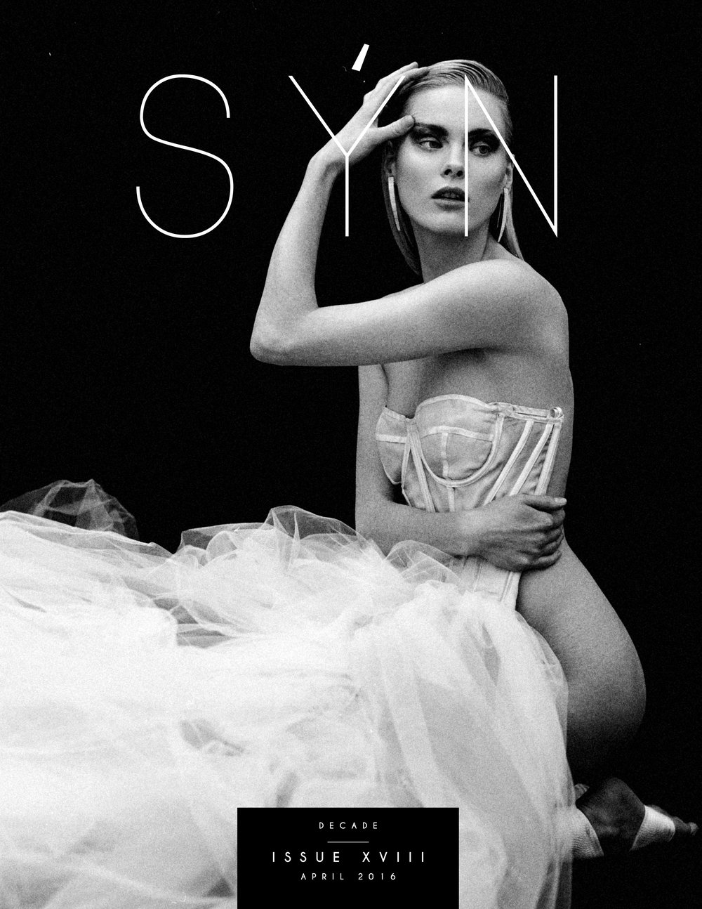 "COVER STORY ""WHITE SWAN"" FOR SÝN MAGAZINE DECADE ISSUE"