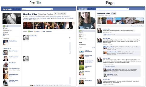 Profile Vs Page Personal Brand