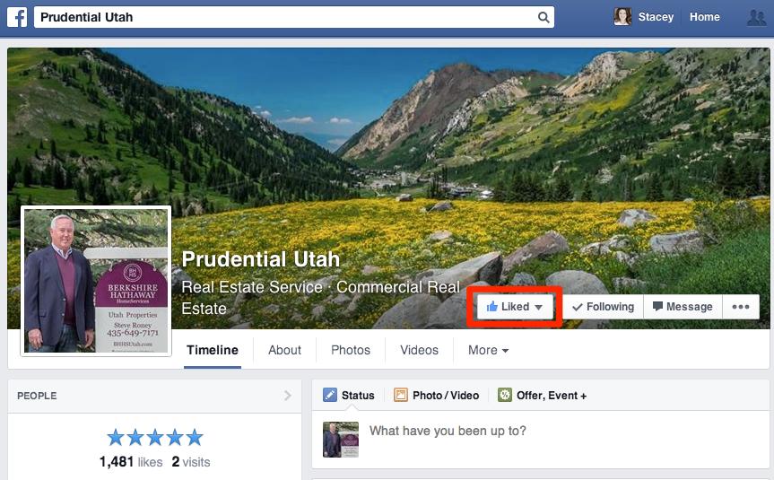 Brokerage Facebook Page